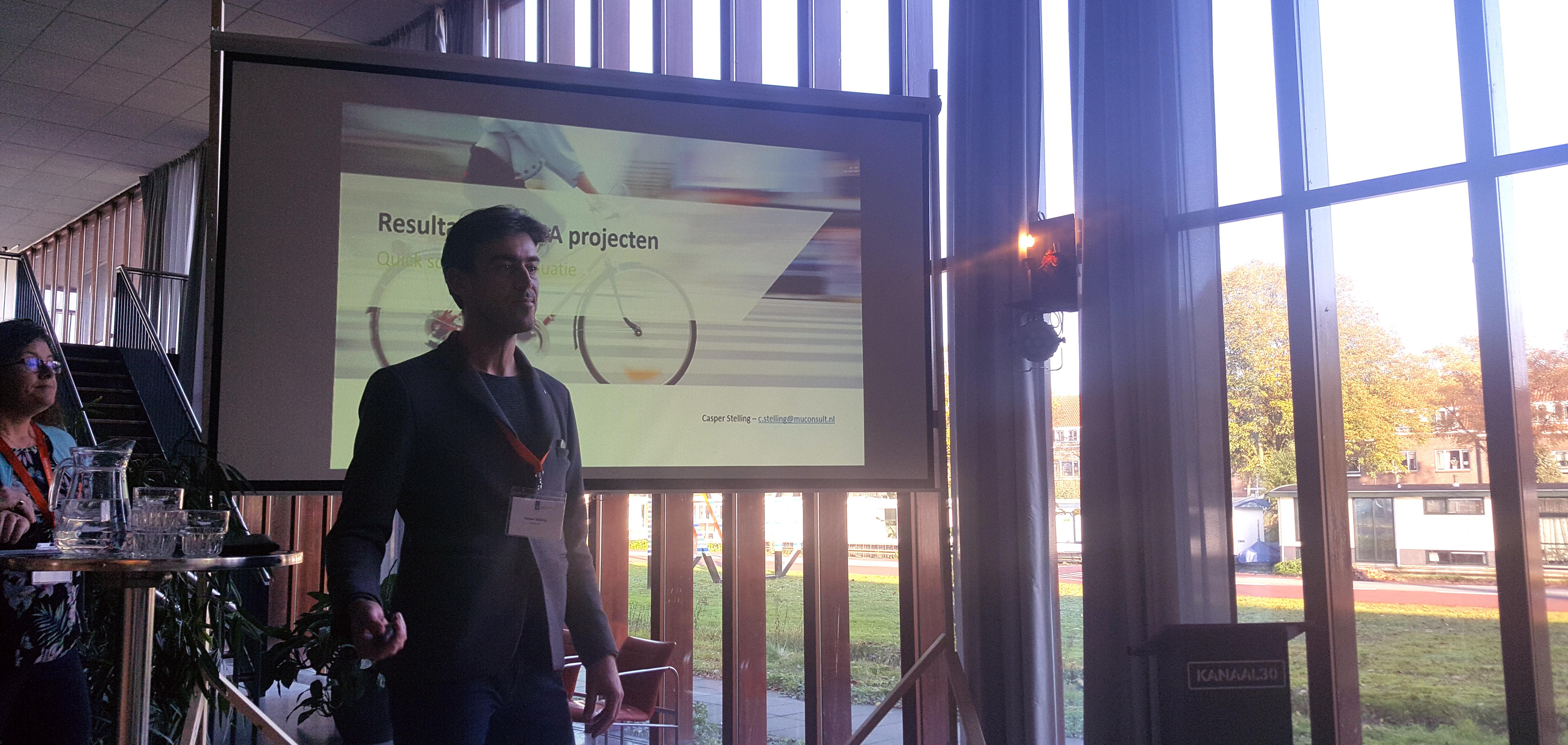 Eindevaluatie IMMA projecten: Casper Stelling presenteert resultaten projecten