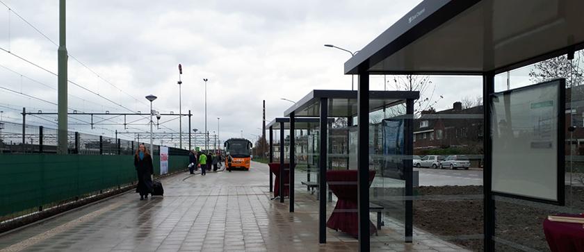 MuConsult aanwezig bij opening Internationaal Busstation Maastricht.