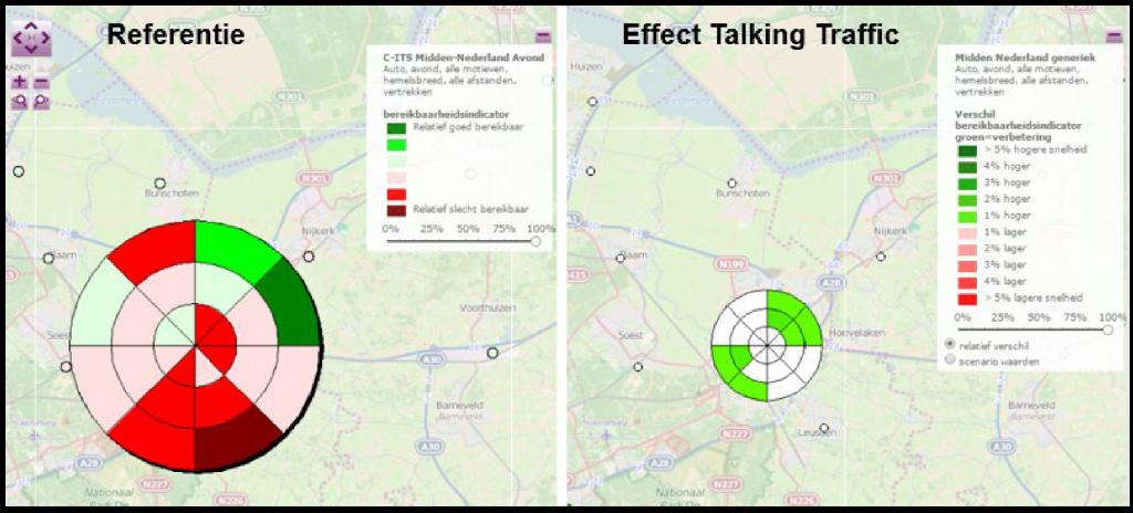 iVRI en talking traffic resultaten